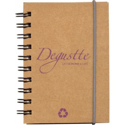 Caderneta Ecológica com Elástico