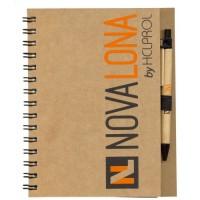 Caderno ECO com Caneta